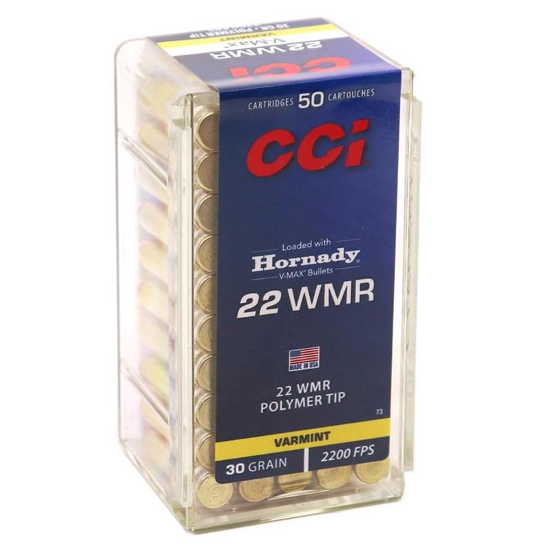 CCI Maxi-Mag 22 WMR Ammo 30 Grain Hornady V-Max
