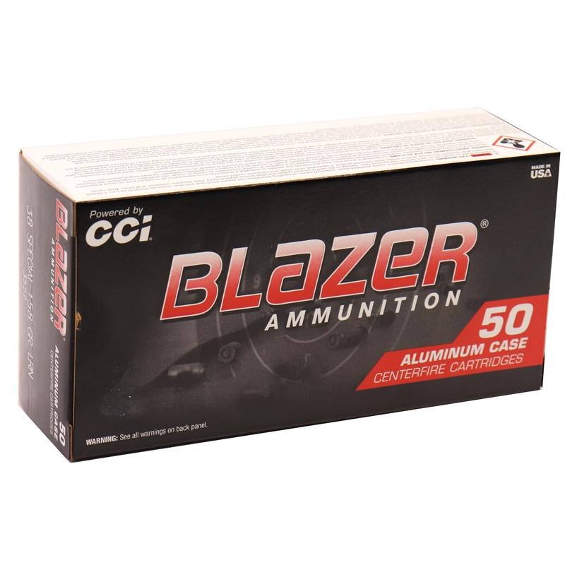 cci blazer 38 special ammo 158 grain lead round nose