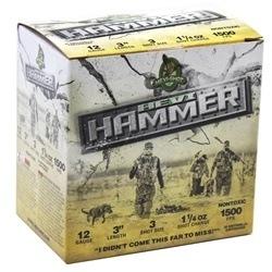 "Hevi-Shot Hevi-Hammer 12 Gauge Ammo 3"" 1-1/4 oz #3 Shot"