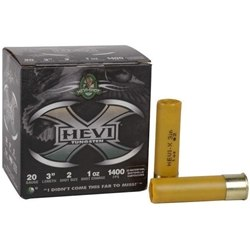 "Hevi-Shot Hevi-X Waterfowl Shotshells 20 Gauge Ammo 3"" 1oz Tungsten Lead Free #2 Shot"