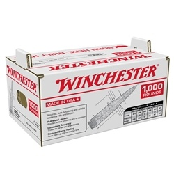 Winchester 223 Remington Ammo 55 Grain FMJ Bulk 1000 Rounds