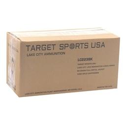 Target Sports USA Lake City 223 Remington Ammo 55 Grain FMJ 1000 Rounds Bulk
