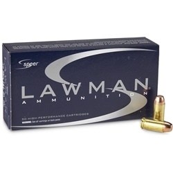 Speer Lawman 40 S&W Ammo 180 Grain Total Metal Jacket