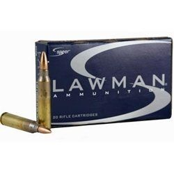 Speer Lawman 5.56x45mm Ammo 55 Grain Full Metal Jacket Boat Tail