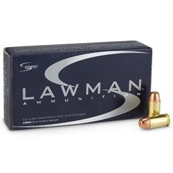 Speer Lawman 45 ACP AUTO Ammo 200 Grain Total Metal Jacket