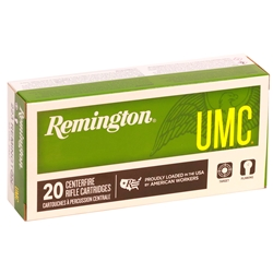 Remington UMC 223 Remington Ammo 55 Grain Full Metal Jacket Bulk 500 Rounds
